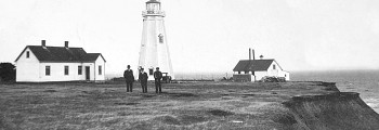 East Point Lighthouse Constructed